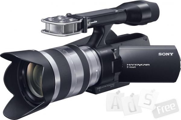 Продам  профессиональную видеокамеру Sony NEX -VG 10 e
