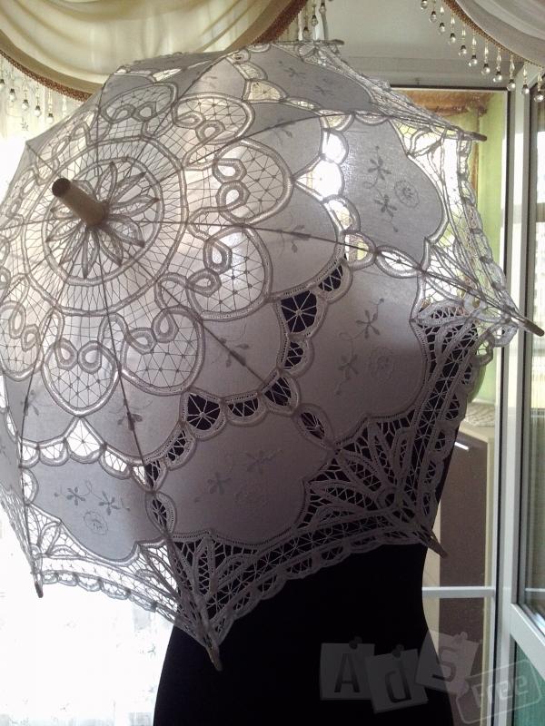Прокат свадебного зонтика для фотосесии