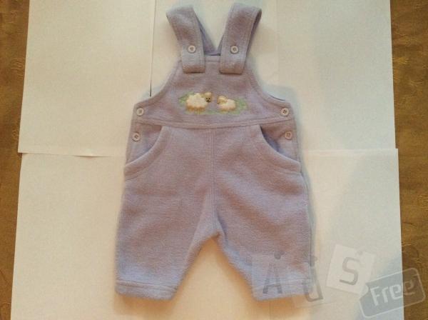 Флисовый Комбинезон на ребенка 3 месяцев
