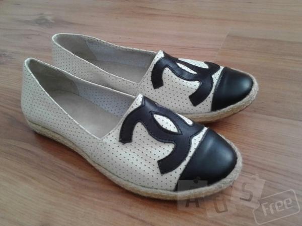 Слипоны Coco Chanel, размеры 36, 37, 40