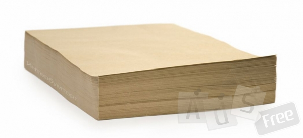 Крафт бумага в рулонах и листах