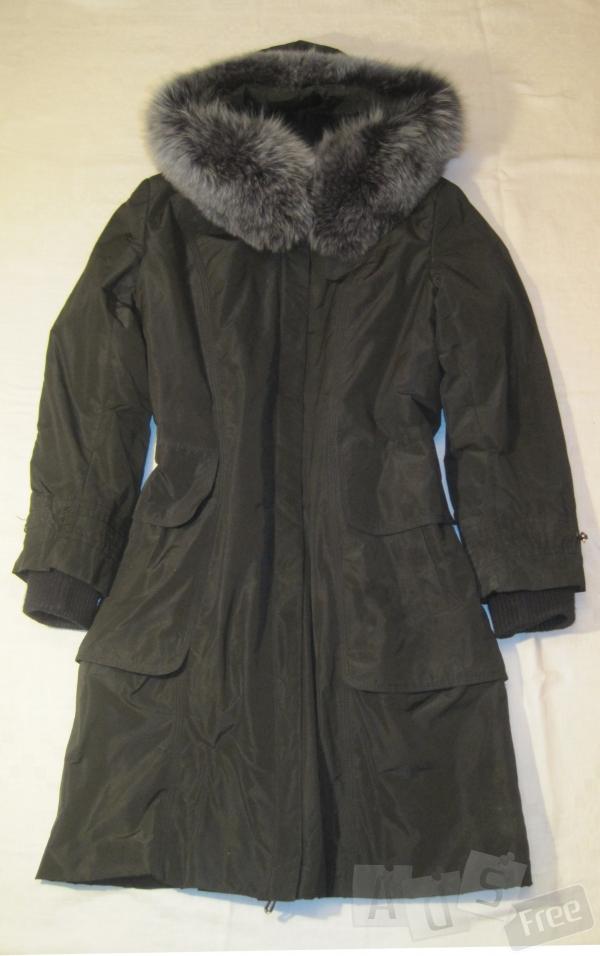 Пальто зимнее на меху