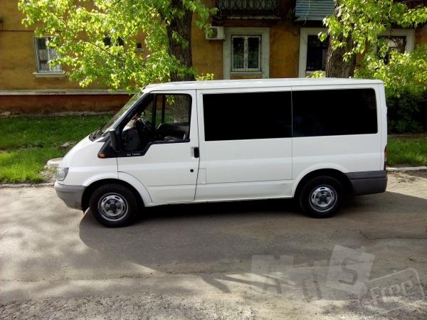 Услуги микроавтобуса Форд, 8 мест