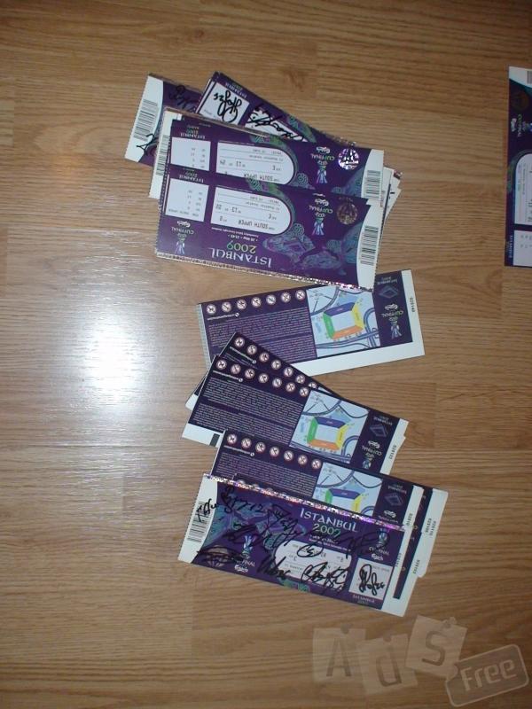 Продам билеты ISTANBUL 2009