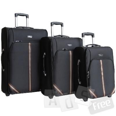 Набор из 3-х чемоданов для всей семьи. А