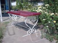 Садовая кованая скамейка,лавочка