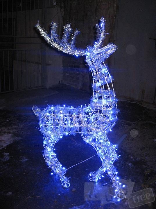 Изготовим Новогодних оленей LED