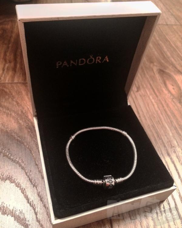 Серебряный браслет Pandora. Оригинал.
