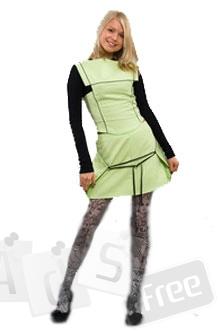 Летнее платье официанта