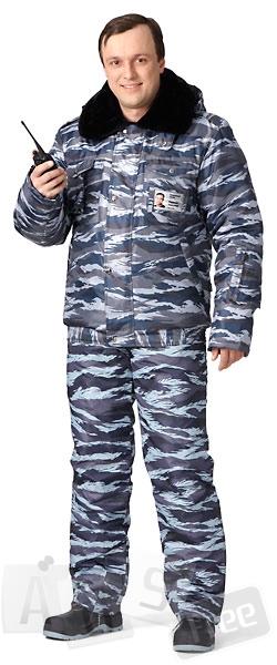 Куртка мужская утепленная «Секьюрити» (к