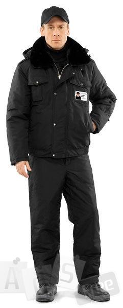 Куртка мужская утепленная «Секьюрити» (ч