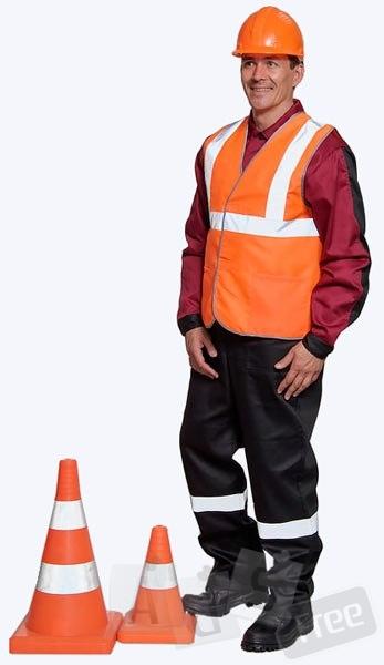 Костюм мужской жилет и штаны