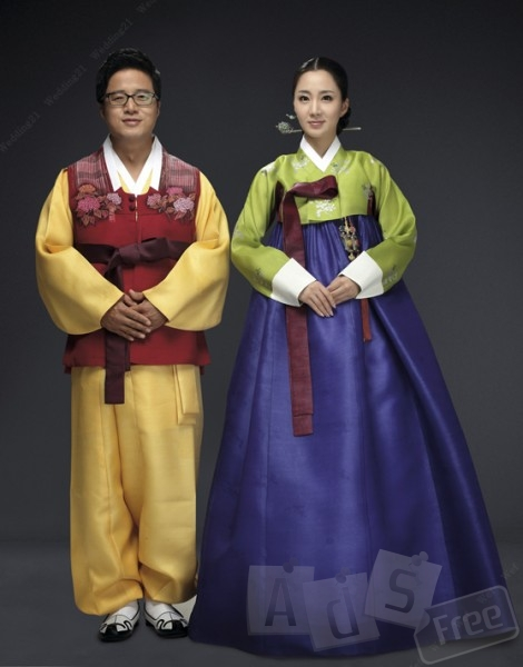 Национальный Корейский костюм