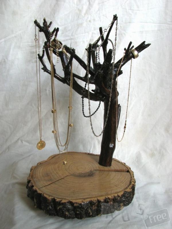 подарок  из дерева ручной работы девушке