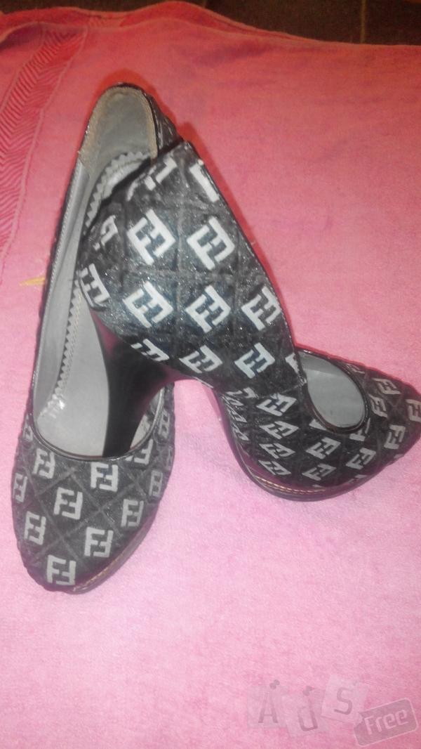 туфли на высоком каблуку 37 размер