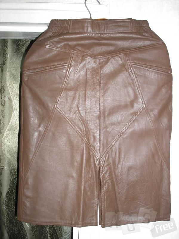 Продам юбку из натуральной кожи