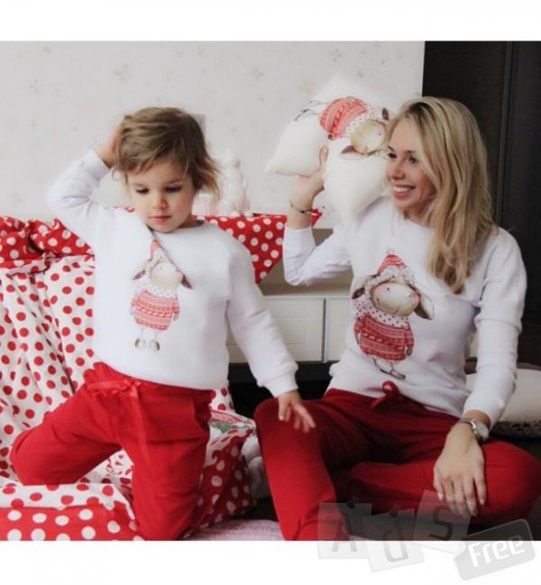 Комплект кофт для мамы и ребенка Family