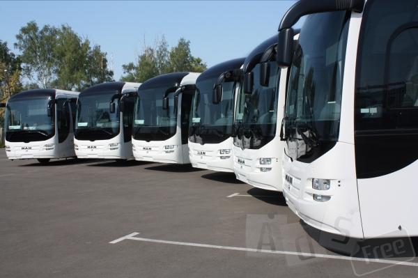 Аренда заказ автобуса 18,51, 55,57 мест.
