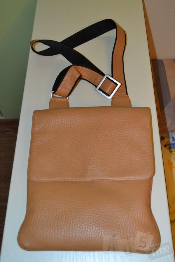 Кожаная сумка-кроссбоди VOI Германия.