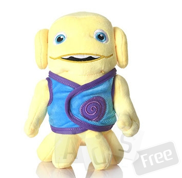 Мягкая игрушка Boov смущенный желтый