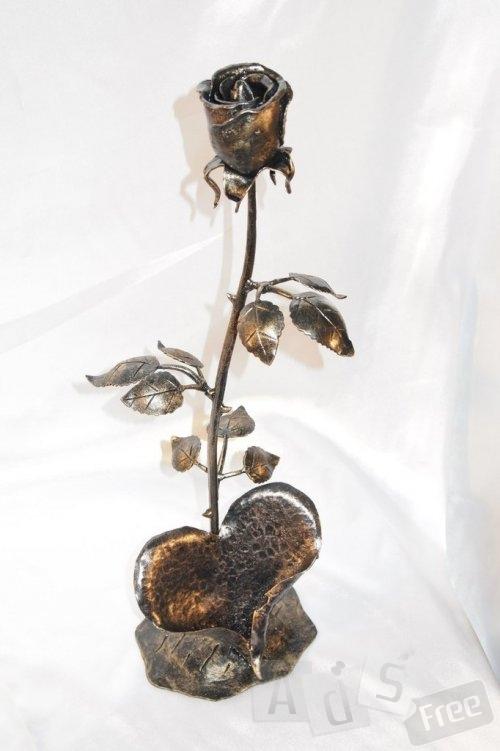 Кованные цветы  ручной работы