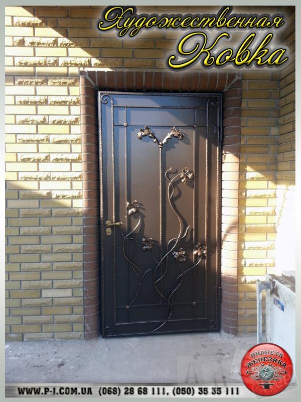 Оконные кованые решетки и входные двери