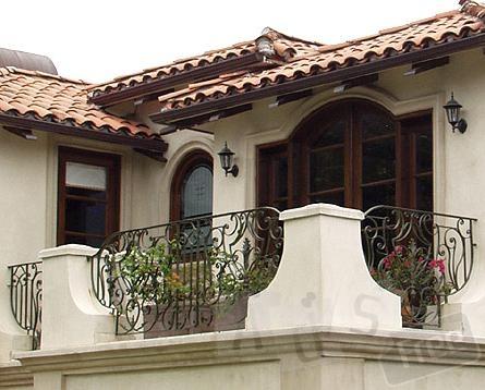 Балконы и балконные ограждения из черног