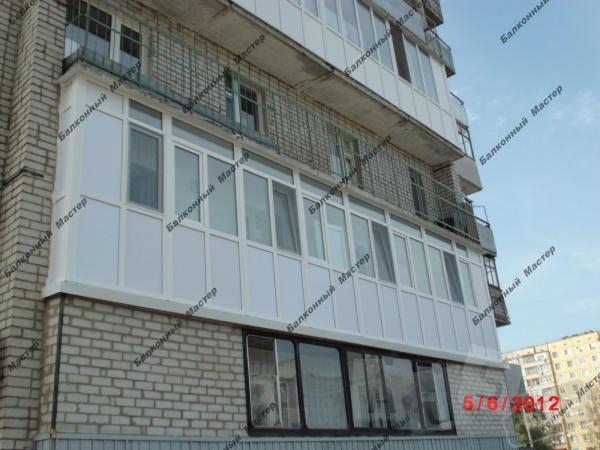 Балкон под ключ, утепление лоджий
