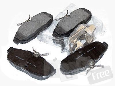 Форд мустанг 05 - 010 - Задние колодки