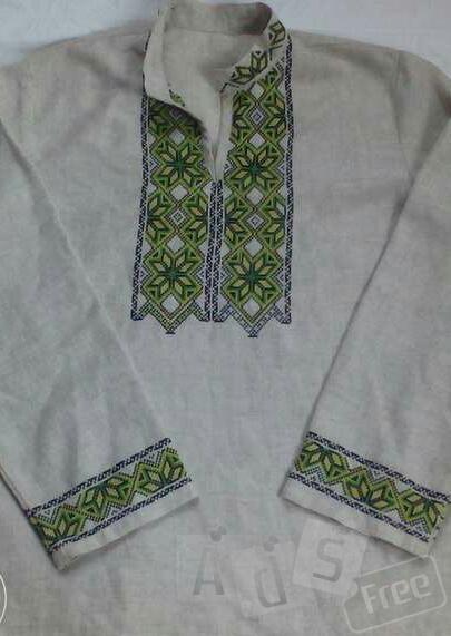 вышитая рубашка ручной работы