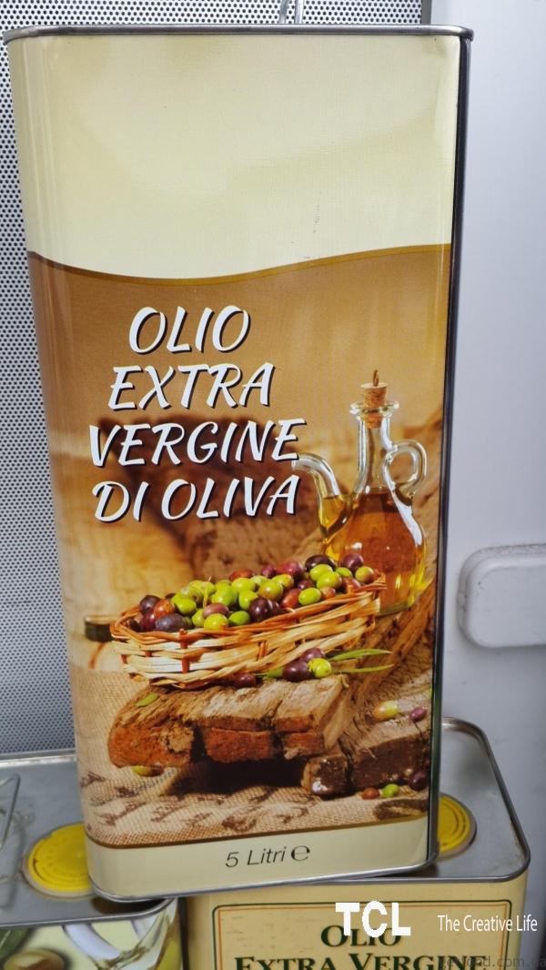 Extra Vergine di Oliva, 5 л Оливковое