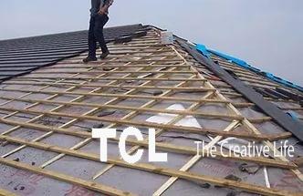 починим шиферную крышу