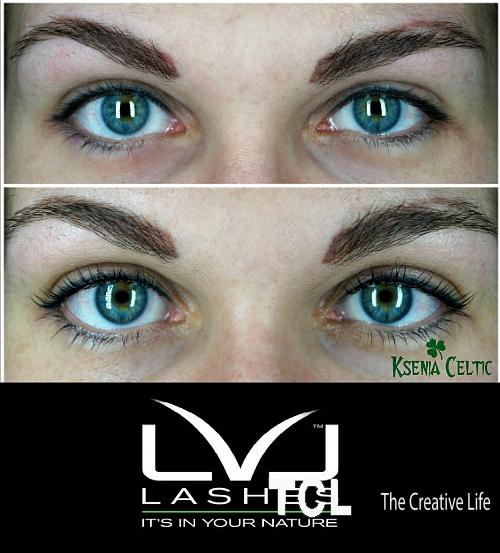 Ламинирование ресниц LVL lashes