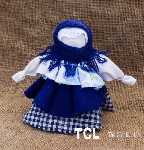 Народная обережная кукла Колокольчик