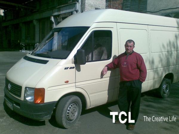 Перевезу груз на автобусе 1.5т. из Киева