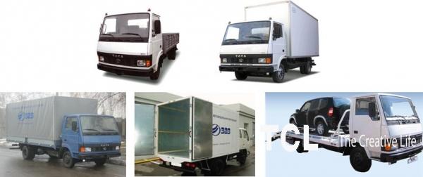 платформы, будки, фургоны для грузовиков