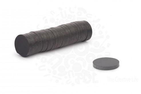 Ферритовый магнит 15 мм х 3 мм