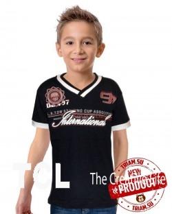 Детские трикотажные футболки оптом в Ро