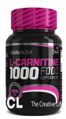 Карнитин BioTech L-carnitine 1000 mg 60