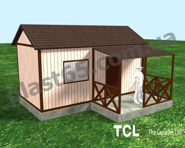 Строительство дачных домиков, бытовок.