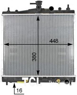 Ниссан Микра 00 . 1.0 - Радиатор охлажд