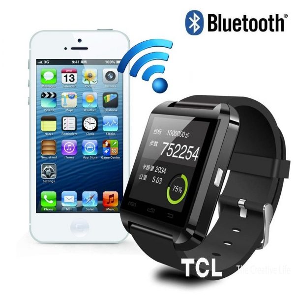 Uwatch U8 умные часы смарт Bluetooth