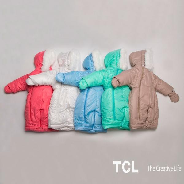 Зимние комбинезоны для детей от 0 до 12