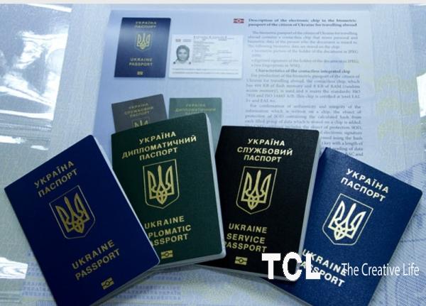 Паспорт Украины, загранпаспорт, ID карт