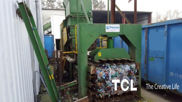 Пресс для вторсырья Presona 50 тонн