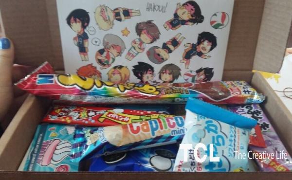 Посылка сладостей из японии