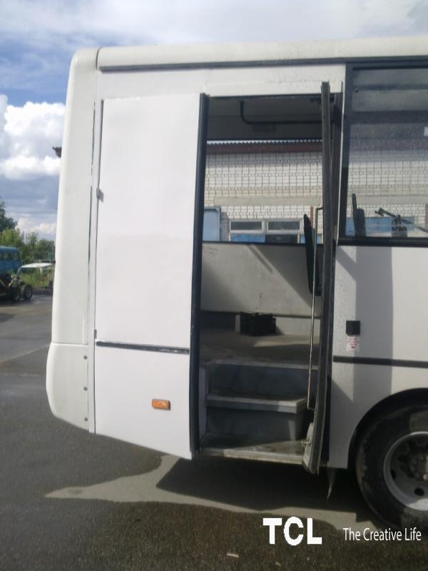 Переоборудование автобуов для инвалидов