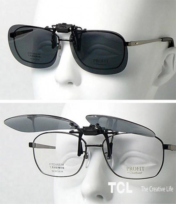 Накладки на очки с диоптриями