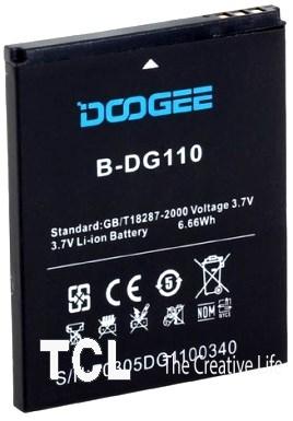 Doogee B-DG110 1800mAh Li-ion