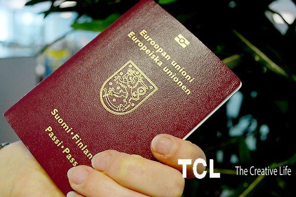 Паспорт Польши. Паспорт Финляндии.